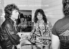Eddie Van Halen ❤️ 1984 That smile