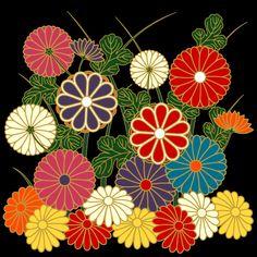 Patterns from Japanese Kimono