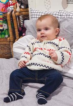 Pippi Långstrump-tröja (in Danish, Norwegian, Swedish) Baby Knitting Patterns, Free Knitting, Pi T Shirt, How To Make Clothes, Making Clothes, Baby Wearing, Knitting Projects, Free Pattern, Knit Crochet