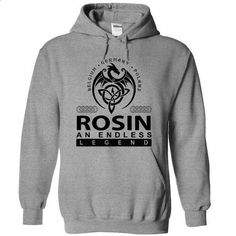 ROSIN an endless legend - #tee geschenk #hoodie for teens. ORDER HERE => https://www.sunfrog.com/Names/ROSIN-SportsGrey-45336982-Hoodie.html?68278