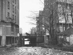 ¿Rotterdam - Krommert, richting Admiraal de Ruijterweg.  1932