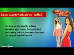 "Lyrics video by Sabrina Carpenter & Sofia Carson performing Wildside. Catch the premiere of the Disney Channel Original Movie, ""Adventures in Babysitti. Disney Channel Original, Original Movie, Sofia Carson, Sabrina Carpenter, Adventures In Babysitting, Man Movies, All Songs, Your Brother, Lyrics"