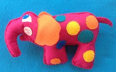Elephant baby rattle by Ecotrinkets - Amy Monthei