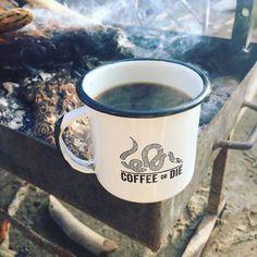 I need this mug and a campfire! Courtesy of @blackriflecoffee #GrindBrewEnjoy #coffeemugaddict