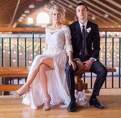 They are the perfect couple.  I'm so happy they got married. #tylerandjennajoseph
