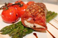Grillowanie: Grillowany tuńczyk zawinięty w szynkę serrano Grilling, Grill Party