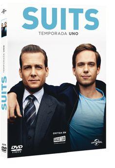 La primera temporada de 'Suits' se encuentra disponible en DVD