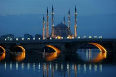 Sabancı Mosque &The stone bridge -Adana/Turkey