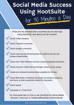 what to do to improve your social media