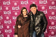 Cecilia Gessa y Carlos Bardem. Kooza, Cirque du Solei. 1o. de marzo, 2013 Foto: Truc