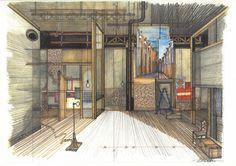 ¡Ay, Carmela! 2006 #escenografia #dodorico #teatro Stage Set Design, Scenic Design, Sketches, Google, Theater, Art, Drawings, Stage Design, Doodles