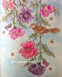 Summernights by Hanna Karlzon Colored by julie's passion for coloring