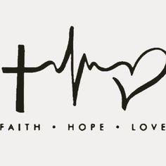 #fé #esperança #amor #faith #hope #love