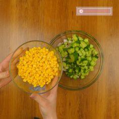 """O gustare ușoară, care va oferi culoare oricărei mese – salată gustoasă """"Gingășie"""" - savuros.info Vegetables, Food, Essen, Vegetable Recipes, Meals, Yemek, Veggies, Eten"""