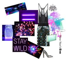"""""""Sparkling night"""" by closertocris ❤ liked on Polyvore featuring Cheap Monday, Marc Jacobs, Michael Kors and Dolce&Gabbana"""