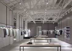 Theory store interiors by Nendo [retail design]