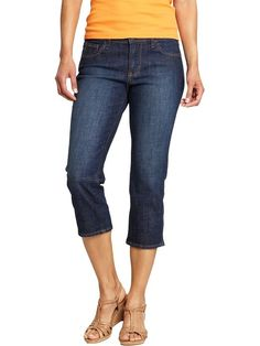 Transition from summer to fall with chic cropped denim!