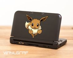 Eevee pokemon decal sticker for nintendo 3ds xl by VinylGraf