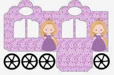 Bella Rapunzel: Shaped Box Print Carriage for free.