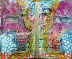 Frieda Oxenham: The Stencilfied Journal Prompt 5
