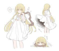 Female Character Design, Character Design Inspiration, Character Art, Anime Chibi, Anime Manga, Anime Art, Kawaii Drawings, Cute Drawings, Anime Dress