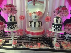 French / Parisian Quinceañera Party Ideas | Photo 2 of 23