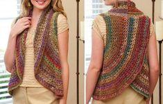 Crochet Sweaters: Crochet Patterns Of Wonderful Bolero / Vest For Women