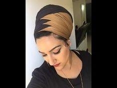 קשירת מטפחות - קלילופ צמה, ליפופים ועוד...| How To Tie A scarf- cliloop braid, Wraps & more - YouTube Tie A Turban, Turban Hijab, Turban Style, Turban Tutorial, Hijab Style Tutorial, Doek Styles, Afro, Hair Wrap Scarf, Ethno Style