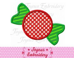 Instant Download Christmas Candy Embroidery Applique Design NO:1662