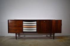 Danish Mid Century Rosewood Sideboard, Design By Arne Vodder, Produced By Sibast | Vinterior
