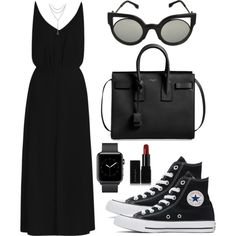 Sem título #5417 by beatrizvilar on Polyvore featuring polyvore, fashion, style, Zimmermann, Converse, Yves Saint Laurent, David Yurman, Fendi, Illamasqua and clothing
