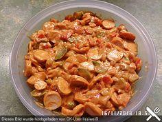 Wiener Würstchen Salat