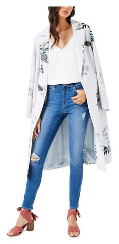 """One of the Historic and Classic Style outfit is """"Trench Coat"""". This is the only style, which can mix well with any attire. Formal, Semi formal or Party Wear Fall Fashion Outfits, Autumn Fashion, Trench Coat Style, Party Wear, Classic Style, Duster Coat, Most Beautiful, Kimono Top, Stylish"""