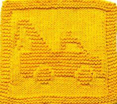 Large Knitting Cloth Pattern - WRECKER - PDF