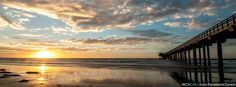 Pier Sunset FB - Free Facebook Cover Photo by Nick Chill