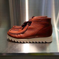 33617bb6411f Croc print desert boots from BAPE