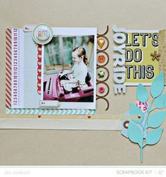 Made with @Abigail Phillips Mounier Calico July Kit and add-ons, Valley High!