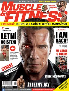 I am back - Arnold sa vracia ako Terminátor a predstavuje svoj tréning. Staršie čísla M&F za akciovú cenu v shope na stránke M&F.