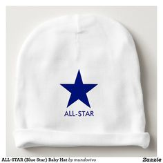 ALL-STAR (Blue Star) Baby Hat Baby Beanie