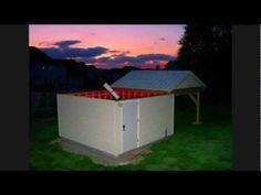 My own backyard Observatory - YouTube