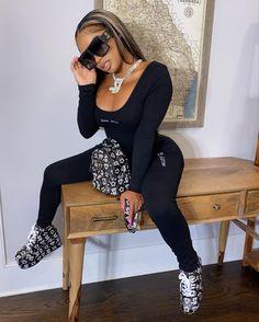 Black Girl Fashion, Dope Fashion, Grunge Fashion, Fashion Killa, Trendy Fashion, High Fashion, Fall Outfits, Casual Outfits, Fashion Outfits