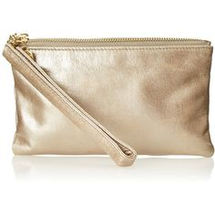 HOBO Tilda Wristlet (2.210 UYU) ❤ liked on Polyvore featuring bags, handbags, clutches, brown leather handbags, leather clutches, hobo handbags, leather handbags and leather purses
