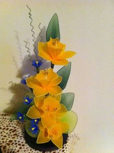 Chiffon Flowers, Satin Flowers, Diy Flowers, Fabric Flowers, Nylon Crafts, Ribbon Projects, Nylon Flowers, Fabric Flower Tutorial, Hand Embroidery Tutorial