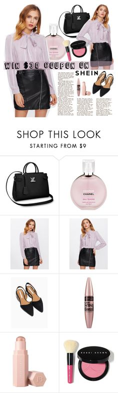"""""""NEW CONTEST"""" by fashiondiary5 ❤ liked on Polyvore featuring Chanel, Maybelline, Puma and Bobbi Brown Cosmetics"""