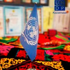 The UNDP's Kazakhstan office prepares for the Social Good Summit. #2030Now