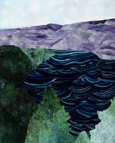 Sally Ross, Purple mountains 2012