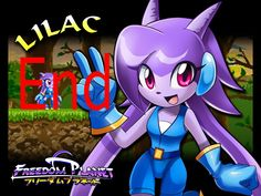 Freedom Planet - Adventure Mode Lilac Ending