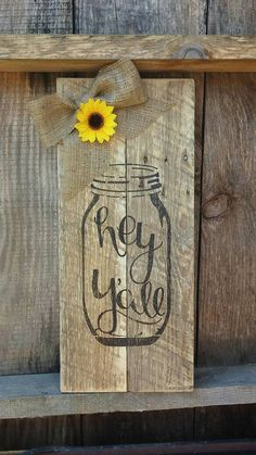 Check out this item in my Etsy shop https://www.etsy.com/listing/387182310/hey-yall-pallet-sign-28-x-12