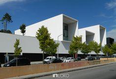 Serviços Centrais do Polo II da Universidade de Coimbra - Coimbra - Aires Mateus
