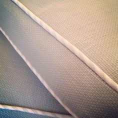 Stripe Fabric - Welting! Coastal Love!  RUSTIC ROOSTER INTERIORS www.rusticrooster.com